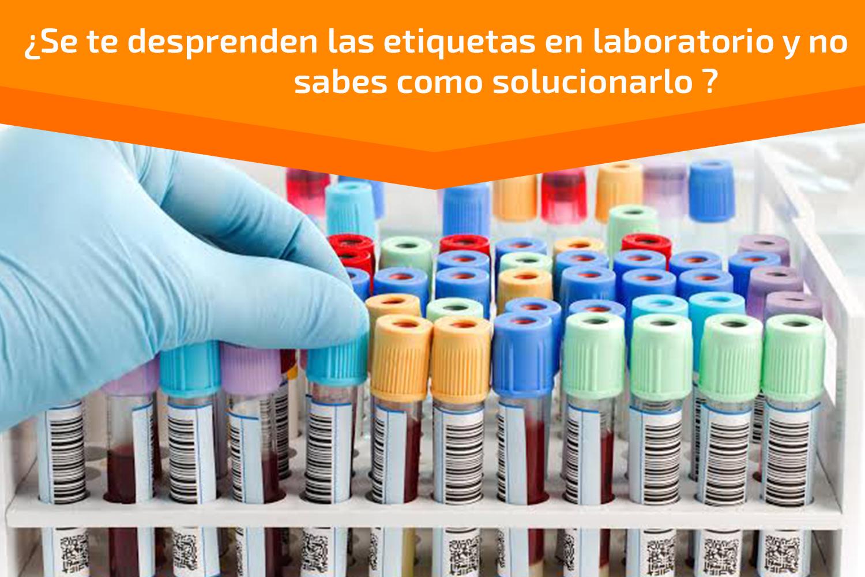 Etiquetas adhesivas para Laboratorio